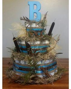 Personalized Camo Diaper Cake | CraftOutlet.com Photo Contest