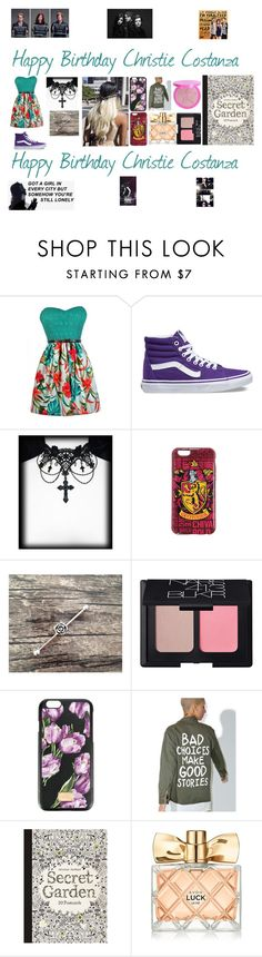 """""""Christie Costanza❤️"""" by cassieee-m ❤ liked on Polyvore featuring Vans, NARS Cosmetics, Dolce&Gabbana, Jac Vanek and Avon"""