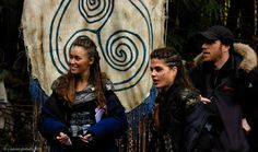 bts of #the100