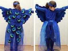 Kostüm -tavuskuşu