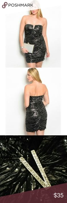 🔴Final Markdown🔴Shimmering Night Out Dress Shimmering Night Out Dress Finesse Dresses Mini