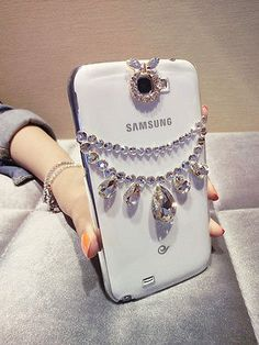 Unique Design Bling Crystal Diamond Back Cover Case For Samsung Apple Iphone | eBay
