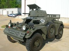 1961 army surplus Ferrett armored scout car- so I can safely go get my groceries