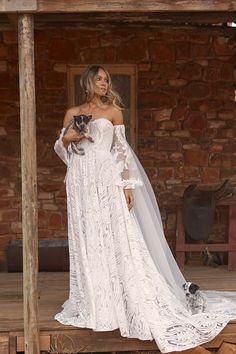 WREN – Evie Young Bridal Bridal Dresses, Girls Dresses, Flower Girl Dresses, Bridesmaid Dresses, Wedding Dress Boutiques, Designer Wedding Gowns, Cathedral Length Veil, Bridal Salon, A Line Gown