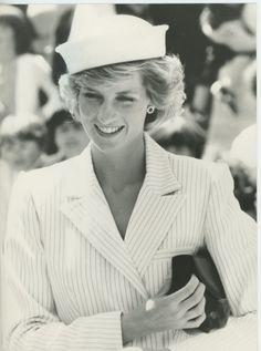 October 28, 1985: Princess Diana visiting Portland, Victoria