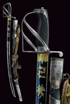 """A """"Rumford"""" officers sabre.    provenance: Bavaria dating: first quarter of the 19th Century."""