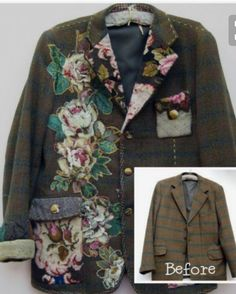Sweet, upcycle coat...
