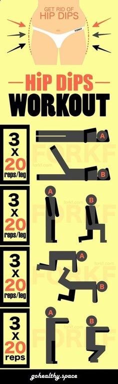 How To Get Rid Of Hips Dips Workout | gohealthy.space