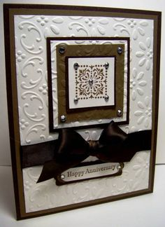 PPA65 Bling Anniversary by Julie Gearinger - Cards and Paper Crafts at Splitcoaststampers