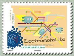 Sello: Electromobility (Francia) (New industrial France) Yt:FR A1065,Mi:FR 6020,AFA:FR 6095