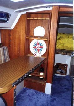 34 best catalina 25 interior images sailboat interior boating candle rh pinterest com