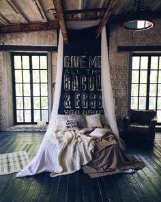"""Фотозона """"Кровать с пледами"""""""