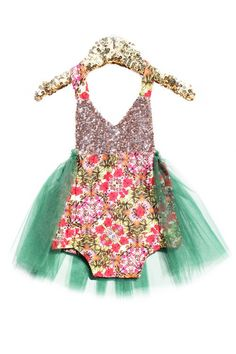 906fe8b0e375 Bali Hai Tutu Sparkle Romper  BelleThreadsPinterest  bellethreads Cute  Little Girls