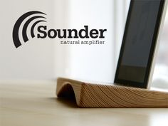The Sounder iPad / iPhone stand and natural amplifier. Made from reclaimed planks from the Coney Island boardwalk! Fund it on Kickstarter.