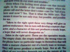 Romans 5:3-5a
