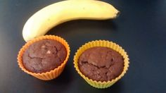 Fondant chocolat, banane et cacahuète (vegan, sans gluten)