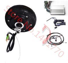 "5"" 150W 48v electric wheel hub motor  electric scooter motor kit  electric longboard conversion kit"