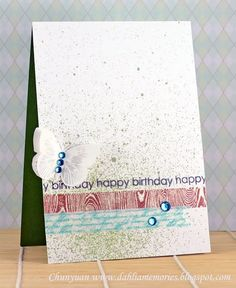 Washi Tape CARDS Challenge Gallery and New Challenge! - CREATE: Blog