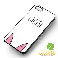 Louise Belcher from Bobs Burgers-144y for iPhone 6S case, iPhone 5s case, iPhone 6 case, iPhone 4S, Samsung S6 Edge