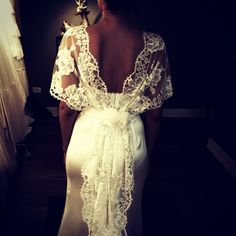 The detailing on this wedding gown is beautifully done, I think the hair up will go well with this gown. Gown by Lihi Hod (012)-Lottie.B