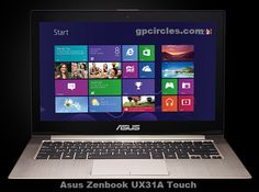Asus Zenbook UX31A Touch Specifications And Price in India