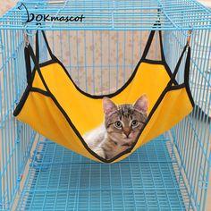 Vokmascot cat Pet hanging Bed For Dog/Cat/Kitten/Ferrets/Guinea Pigs Hammock Kitten Sleep Bed With Polar Fleece Material
