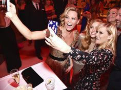 Inside the Hottest Parties of Oscar Night - Elizabeth Banks, Amy Adams, and Reese Witherspoon from InStyle.com
