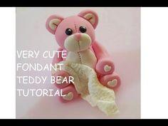 Teddy Bear Cake Topper How To - Max's Cake Studio - YouTube