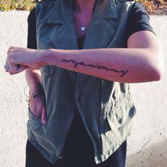 tattoo // via @Jacqui Marie
