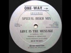 Brooklyn Express - Love Is The Message (1982 One Way Records)