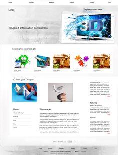 3d Website Design (GammaITSS)
