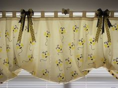 Bumble Bee Curtains