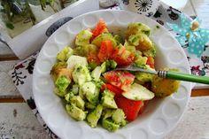 MojaKuchniaMalutka i reszta domu : Sałatka z młodych ziemniaków i mozzarelli