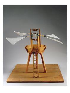 Model Reconstruction of Da Vinci's Design for a Vertical Ornithopter  by Leonardo da Vinci