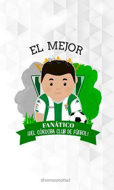 el mejor #Hincha del Córdoba Club de Fútbol #carcasa #movil #carcasaMovil #somosMotta  #futbolEspañol #españa Luigi, Ideas Para, Club, Fictional Characters, Mugs, Get Well Soon, T Shirts, Fantasy Characters