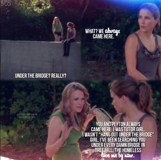 One tree hill - Brooke Davis (Sophia Bush) and Haley James Scott (Bethany Joy Lenz)