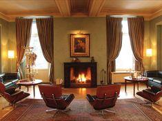 WINTERFREUDEN ❄️ im KRONENHOF #1 Den FLAMMEN in unserem KAMIN 🔥 zusehen ... bei leiser Klaviermusik #GrandHotel #Kronenhof #Pontresina
