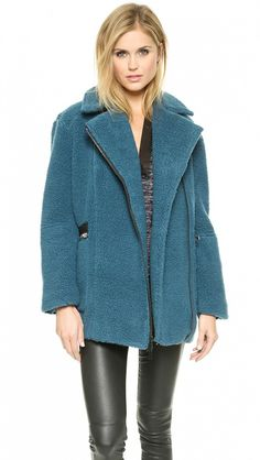 11 Heavy-Duty Winter Coats That Are Actually Way Chic via @WhoWhatWear   I love the blue of this Elizabeth & James coat