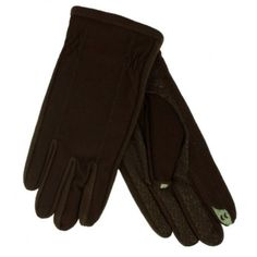 These warm brown smart touch gloves have a sleek fit, warm fleece lining, and fingertips that allow you to use your iphone, ipod, or other touch screen device while your gloves are on! Size: Mens Medium, Large, or X-Large Brand: Isotoner Style: Touchscreen texting gloves Materials: 60% Nylon, 30% Polyester, 10% Polyeurothane Warm Fleece/Spandex Lining Color: Dark Brown When it is cold outside...
