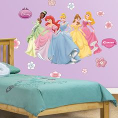 Disney Princess Collection ... NOT a fan of princesses but the little one is. In this pic Id just like the cut out princess none of the other decals.