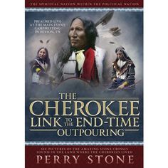 """PERRY STONE-""""The Cherokee Link To The End Time Outpouring """"-DVD"""