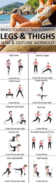 Repin and share if you were turning heads after this workout! Read the post for all the exercises!
