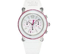 Juicy Couture Ladies HRH Dragon Fruit Chronograph Watch - White - 1900896 Juicy Couture #JUICYWATCHES #JUICYWOMEN #WOMENSWATCHES #AMAZONSHOPPING #MULTIWATCHBRAND