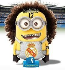 Despicable me hairstyles Minions Love, My Minion, Minions Minions, Minion Dress, Soccer Room, Soccer Birthday Parties, Funny Minion Pictures, Cristiano Ronaldo Cr7, European Football