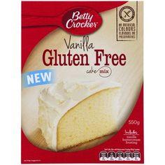 Coles Gluten Free Cake Mix Vanilla