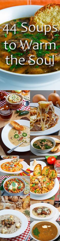 44 Soups to Warm the Soul @Kevin Mann Mann (Closet Cooking)