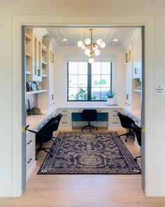 Take a look at our world-wide-web site for way more information on this breathtaking farmhouse home office Home Office Design, Home Office Decor, House Design, Home Decor, Office Ideas, Design Design, Cool Office Space, Office Nook, Custom Home Designs