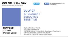 APPart – Mobile Art – Pantone Color of the Day – 'Persian Jewel' – TheAppWhisperer