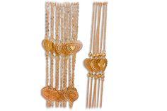 18 KARAT GOLD MULTI-STRAND CUT-OUT HEART BRACELET. Heart Bracelet, Bracelets, Bracelet Designs, Gold Necklace, Jewelry, Gold Pendant Necklace, Jewlery, Jewerly, Schmuck