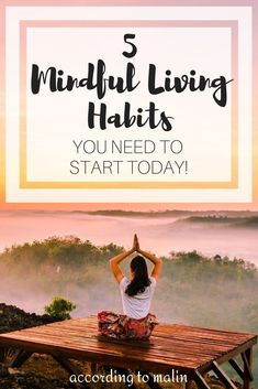 Are you unsure of how you can implement mindful living in your life? Here are 5 habits that will help you to live a more intentional and purposeful life. Meditation Exercises, Mindfulness Exercises, Mindfulness Activities, Mindfulness Practice, Mindfulness Quotes, Mindfulness Meditation, Meditation Space, Mindfulness Techniques, Meditation Techniques